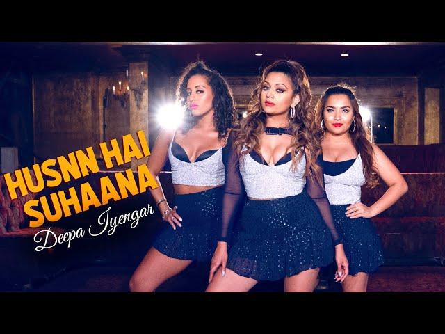 Husnn Hai Suhaana New - Coolie No 1 |  Deepa Iyengar - Bollywood Dance Choreography