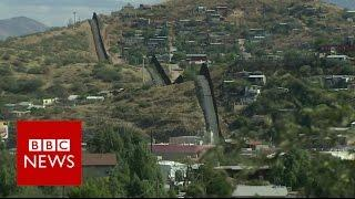 """Mexico wall construction to start  """"as soon as possible"""" President Trump - BBC News"""
