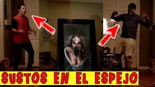 Heavy Joke → Scare with the Mirror to Distributors 2017 / دوربین مخفی‌ ترسناک
