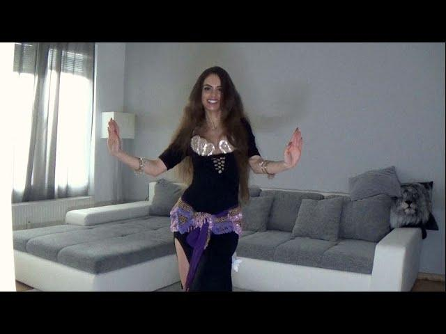 Mahmoud El Leithy Zelzal زلزال  Isabella Belly Dance Shaabi