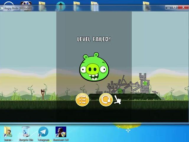 *** gameplay - angry birds ***