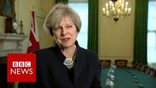 Theresa May: SNP 'tunnel vision' over independence 'deeply regrettable' - BBC News