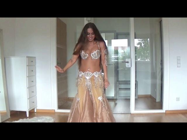 Belly Dance Drum Solo By Isabella| HD