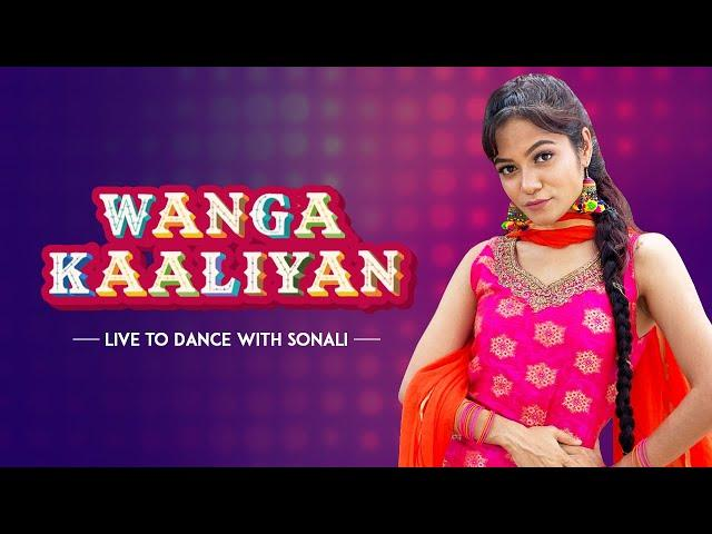 Wanga Kaaliyan - Asees Kaur | Dance Cover | LiveToDance with Sonali