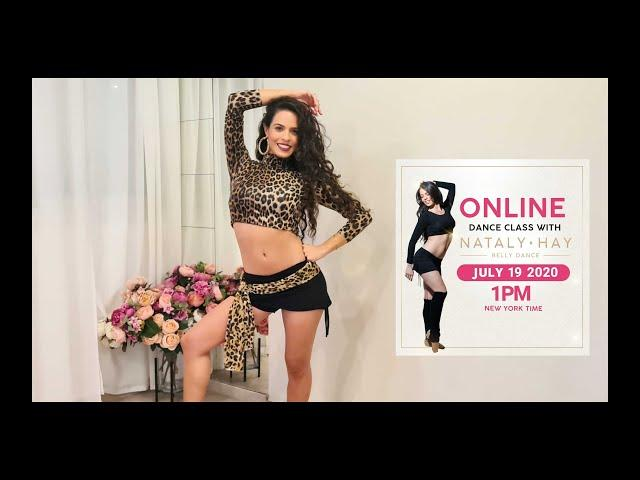 Online Belly Dance Class With Nataly Hay