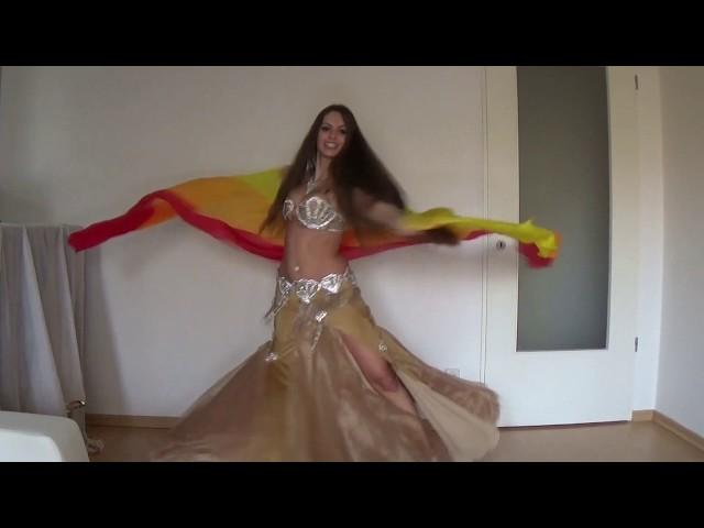 Isabella Belly Dance - Ramy Sabry - Mesh Ana رامي صبري - مش انا