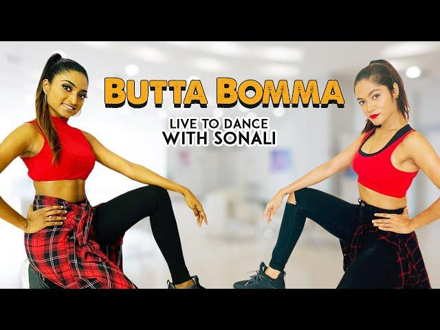 #AlaVaikunthapurramuloo - ButtaBomma | Dance Cover | Allu Arjun  | LiveToDance with Sonali