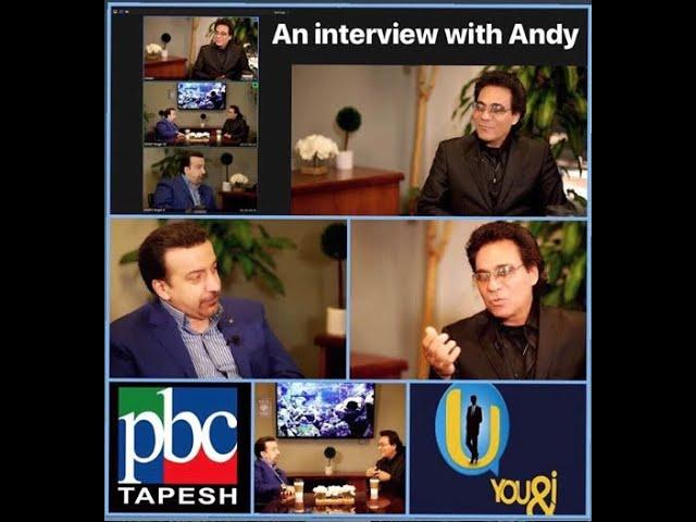 An interview with Andy on Tapesh  ... گفتگویی متفاوتر از همیشه با اندی در طپش