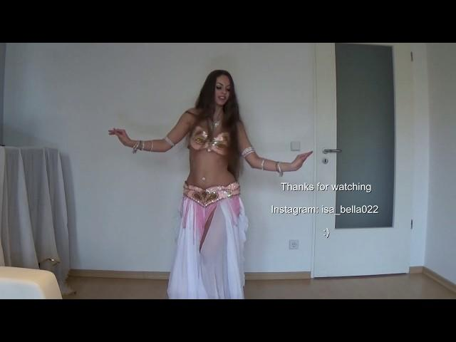 Belly Dance Drum Solo by Isabella HD